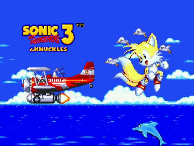 Sonic and Knuckles & Sonic 3 - who the hero now sonic? :D - User Screenshot